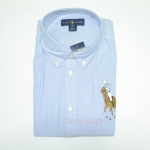 Polo by Ralph Lauren big pony oxford shirt Col : bsr blue