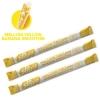 L024 Sipahh version หลอดเปลี่ยนรส Mellow Yellow Banana Smoothie รสกล้วย 1 แพ๊ค 3 ชิ้น