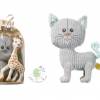 ของเล่น Lazare the cat + Sophie la Girafe