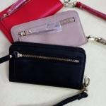 กระเป๋าสตางค์ Mango Wallet Saffiano Zip Detail ใหม่ ชนชอป ยุโรป 2017