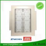 โคมไฟ LED Canopy Light 60-80Wดีไซน์ใหม่ สำหรับใช้ในปั๊มน้ำมันและอื่นๆ