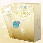 (6 กล่อง 1800 บาท) Donutt Collagen Tripeptide HACP คอลลาเจนไตรเปปไทด์ HACP ตราโดนัทท์ กล่องทอง 15 ซอง