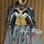 DR-LR-177 Lady Sally Graffity Mixed Print Dress thumbnail 15
