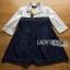 Lady Alisa Smart Chic Embellished Cotton and Denim Shirt Dress L212-75C03 thumbnail 9