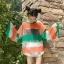 เสื้อผ้าฝ้ายใยสังเคราะห์ เล่นสีสลับสีผ้า thumbnail 2