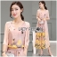 Lady Lydia Casual Feminine Butterfly Printed Set with Chiffon Maxi Outerwear L264-8501 thumbnail 12