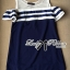 DR-LR-268 Lady Isla Glam Chic Navy Blue Striped Dress thumbnail 6