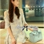 DR-LR-288 Lady Jenna Cut-Out Floral Print Baby Blue Flared Dress thumbnail 7