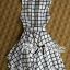 DR-LR-171 Lady Mary Checked Sleeveless Button Down Shirt Dress thumbnail 7