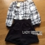 Lady Kim Smart Casual Check Embroidered Playsuit L272-7504 thumbnail 12