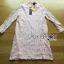 Lady Nara Classic Striped High-Neck Lace Dress L234-79C02 thumbnail 15