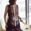 DR-LR-229 Lady Jenny Tribal Colorful Embroidered Mini Dress thumbnail 4