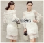 Lady Marion Classy Chic Mixed White Lace Dress L242-79C06 thumbnail 1