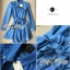 DR-LR-154 Lady Sarah Smart Casual Feminine Denim Shirt Dress thumbnail 16