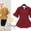 Daisy italy plain blouse thumbnail 7