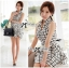 DR-LR-171 Lady Mary Checked Sleeveless Button Down Shirt Dress thumbnail 5