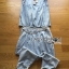 Lady Blaire Sporty Chic Embellished Zipper Denim Jumpsuit L201-85C10 thumbnail 8