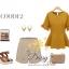 Daisy italy plain blouse thumbnail 10