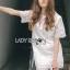 Lady Amanda Classic White Bold Lace Dress L194-69B06 thumbnail 6
