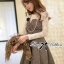 Lady Genna Insert Lace with Houndstooth Dress thumbnail 2