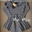 DR-LR-213 Lady Mandy Mixed Striped Easy Dress thumbnail 18