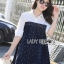 Lady Alisa Smart Chic Embellished Cotton and Denim Shirt Dress L212-75C03 thumbnail 4