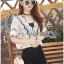 Lady Vanessa Vintage Scallop Lace Blouse L269-6514 thumbnail 4