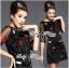 DR-LR-292 Lady Dree Monochrome Heart-Shaped Print Mini Dress thumbnail 6