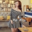 DR-LR-213 Lady Mandy Mixed Striped Easy Dress thumbnail 12