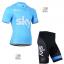 ชุดปั่นจักรยาน SKY BLUE ขนาด XXXL พร้อมส่งทันที ฟรี EMS thumbnail 1