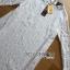 Lady Nara Classic Striped High-Neck Lace Dress L234-79C02 thumbnail 16