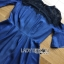 Lady Stella Smart Casual Black Lace and Denim Dress L255-79C12 thumbnail 12