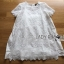 Lady Chloe Classic Embroidered Organza and Cotton Dress L184-79C11 thumbnail 10