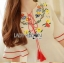 Sretsis Amorita Floral Embroidered Dress with Tassels L251-75C05 thumbnail 12