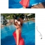 SM-V1-144 ชุดว่ายน้ำแฟชั่น คนอ้วน เด็ก ดารา thumbnail 3