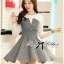 Lady Genna Insert Lace with Houndstooth Dress thumbnail 6