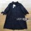 Lady Monica Sweet Minimal White Lace Shirt Dress L266-7908 thumbnail 17