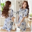 DR-LR-181 Lady Rita Feminine Floral Blooming Dress thumbnail 1