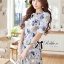 DR-LR-181 Lady Rita Feminine Floral Blooming Dress thumbnail 2