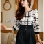 Lady Kim Smart Casual Check Embroidered Playsuit L272-7504 thumbnail 10
