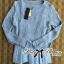 DR-LR-221 Lady Jeanine Baby Blue Sweater and Dress Set thumbnail 12