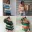 เสื้อผ้าฝ้ายใยสังเคราะห์ เล่นสีสลับสีผ้า thumbnail 4