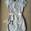 DR-LR-143 Lady Samantha Jewelled Neckline Lace Tube Dress with Belt thumbnail 13