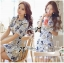 DR-LR-181 Lady Rita Feminine Floral Blooming Dress thumbnail 3