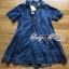 Lady Christine Embellished Washed Denim Shirt Dress L164-79C07 thumbnail 9