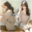DR-LR-294 Lady Jane Classic Glam Smock Chiffon Dress in Beige thumbnail 3