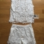 Lady Jessie Minimal Feminine Lace Sleeveless Top and Lace Shorts Set L268-7901 thumbnail 13