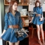 DR-LR-246 Lady Mara Chic Denim Dress thumbnail 2