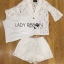 Lady Edita 3-Piece White Jacket and Shorts Set L274-8507 thumbnail 4