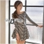 DR-LR-213 Lady Mandy Mixed Striped Easy Dress thumbnail 4